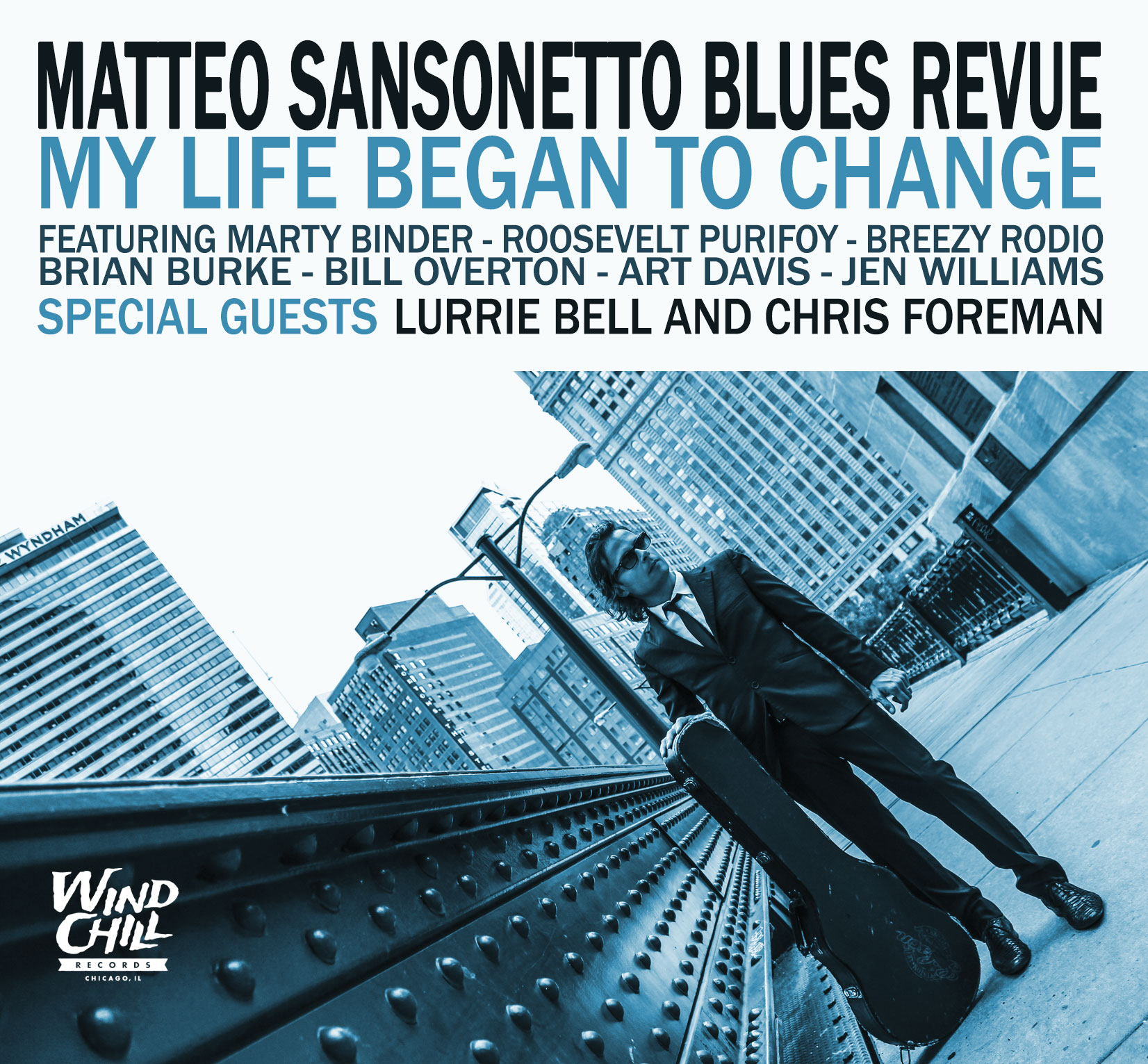 Matteo Sansonetto Blues Revue: My Life Began To Change